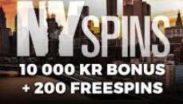 NYspins - Casino som aldrig sover! | Dinabonusar.nu