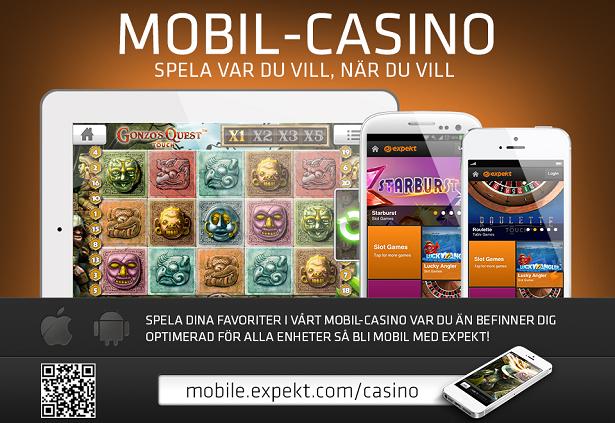 Expekt Casino - Mobilcasino