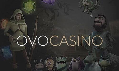 OVO Casino - Ditt nya casino på nätet!