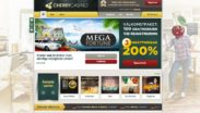 Cherry casino screenshot hos dinabonusar.nu