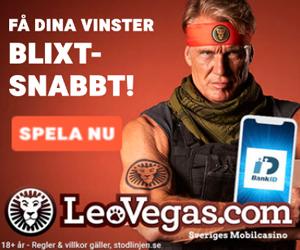 LeoVegas Banner