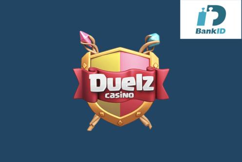 Duelz Casino - Logo - Mobilt Bank ID